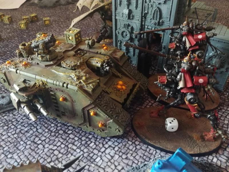 Death Guard VS Adeptus Mechanicus - 03/08/19 A12