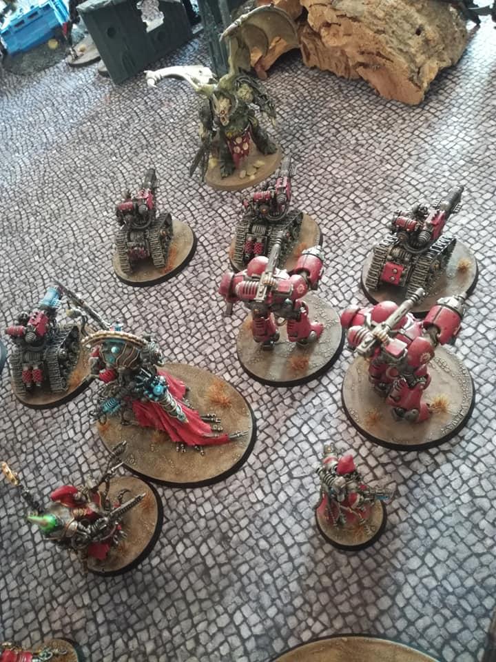 Death Guard VS Adeptus Mechanicus - 03/08/19 B10