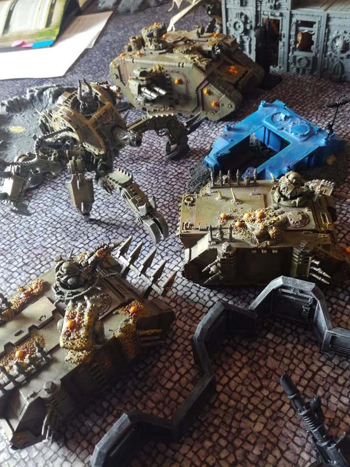 Death Guard VS Adeptus Mechanicus - 03/08/19 E10