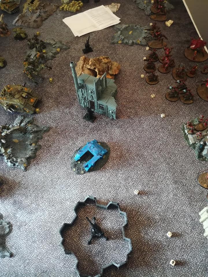 Death Guard VS Adeptus Mechanicus - 03/08/19 F10