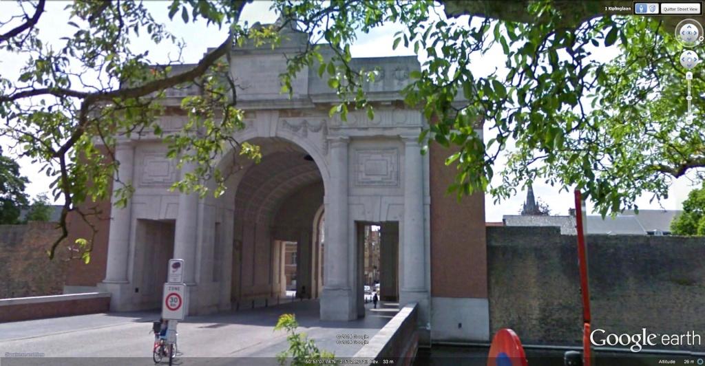 A la découverte des mémoriaux et cimetières militaires - Page 5 Porte_11