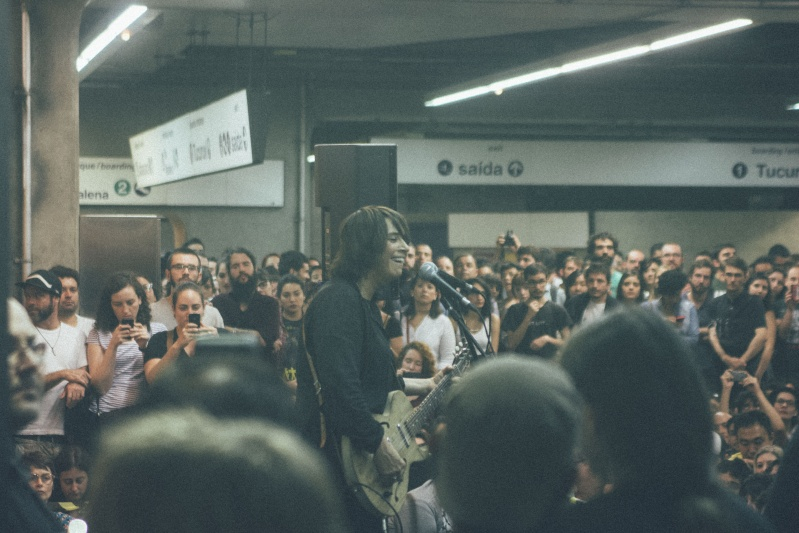 11/27/14 - São Paulo, Brasil, Estação Paraíso do Metro 10710
