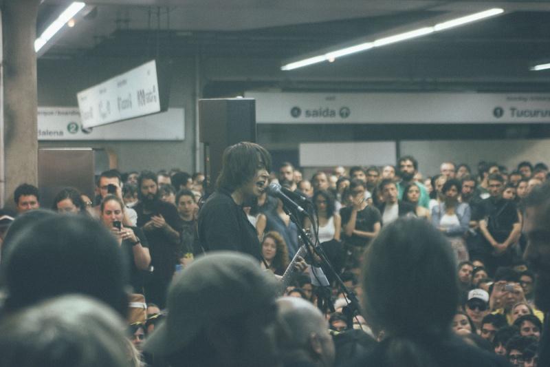 11/27/14 - São Paulo, Brasil, Estação Paraíso do Metro 10810