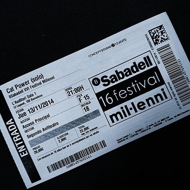 "11/13/14 - Barcelona, Spain, Auditorio de Barcelona, ''Festival Millenni"" 112"