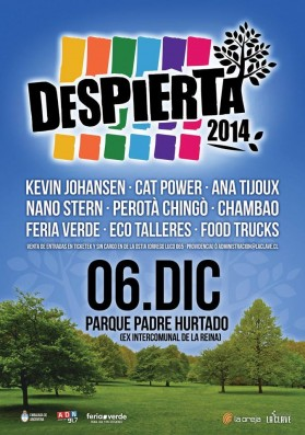 "12/6/14 - Santiago, Chile, Parque Padre Hurtado, ""Despierta Festival'' 12-6-110"