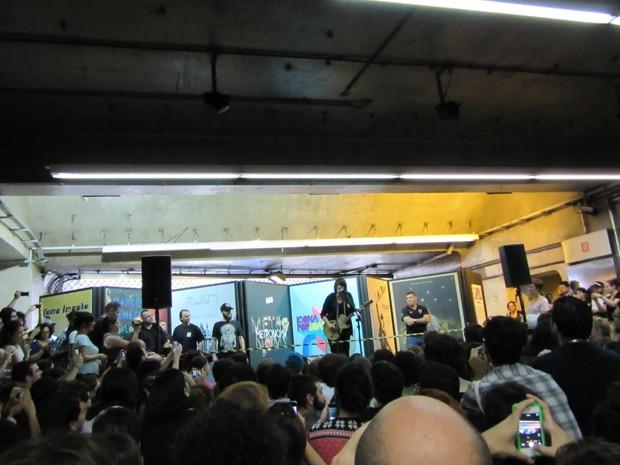 11/27/14 - São Paulo, Brasil, Estação Paraíso do Metro 12110
