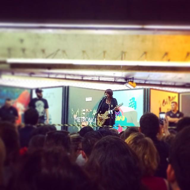 11/27/14 - São Paulo, Brasil, Estação Paraíso do Metro 12410