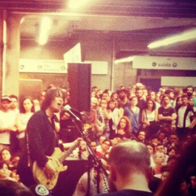 11/27/14 - São Paulo, Brasil, Estação Paraíso do Metro 13510
