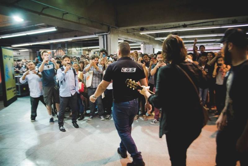 11/27/14 - São Paulo, Brasil, Estação Paraíso do Metro 13610
