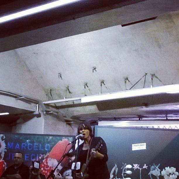 11/27/14 - São Paulo, Brasil, Estação Paraíso do Metro 14910