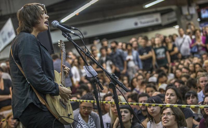 11/27/14 - São Paulo, Brasil, Estação Paraíso do Metro 1516