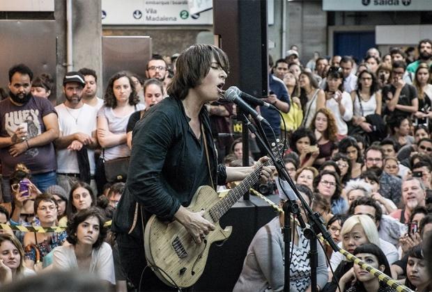 11/27/14 - São Paulo, Brasil, Estação Paraíso do Metro 16410