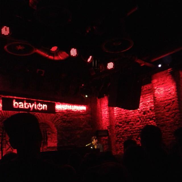 11/23/14 - Istanbul, Turkey, Babylon 1715