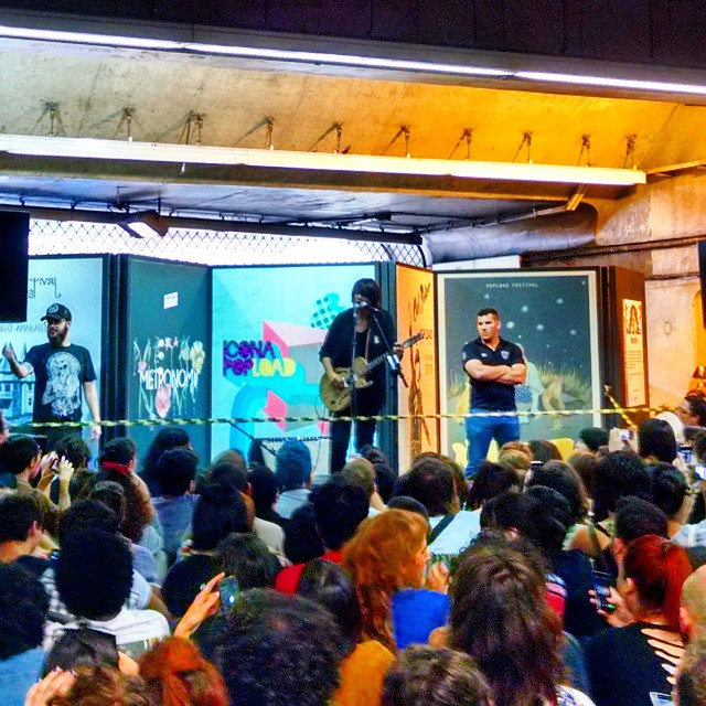 11/27/14 - São Paulo, Brasil, Estação Paraíso do Metro 219