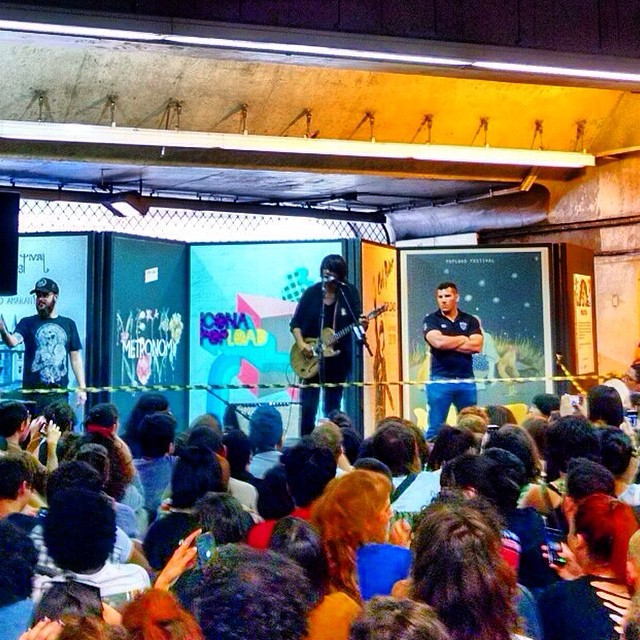 11/27/14 - São Paulo, Brasil, Estação Paraíso do Metro 2218