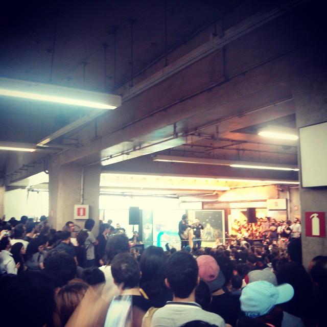 11/27/14 - São Paulo, Brasil, Estação Paraíso do Metro 2318