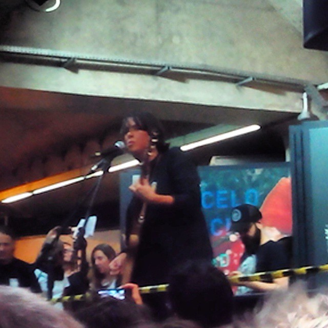 11/27/14 - São Paulo, Brasil, Estação Paraíso do Metro 2617