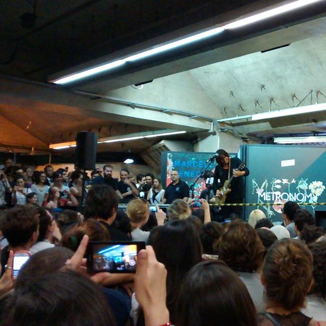 11/27/14 - São Paulo, Brasil, Estação Paraíso do Metro 2716