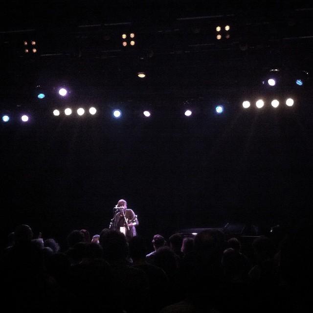 11/19/14 - Frankfurt, Germany, Mousonturm Saal 316