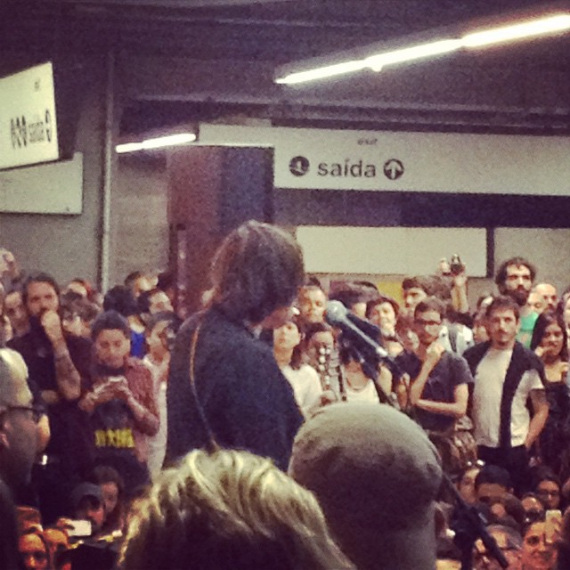 11/27/14 - São Paulo, Brasil, Estação Paraíso do Metro 4313