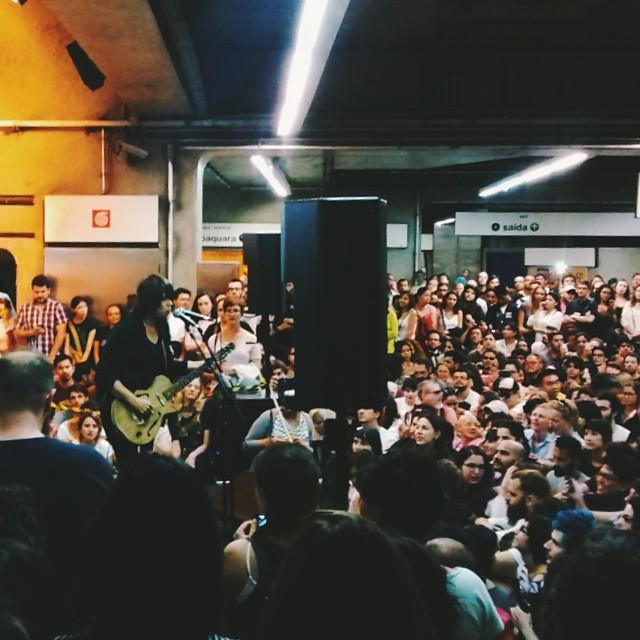 11/27/14 - São Paulo, Brasil, Estação Paraíso do Metro 516