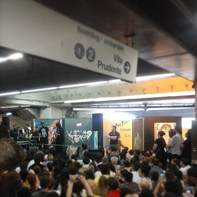 11/27/14 - São Paulo, Brasil, Estação Paraíso do Metro 5311