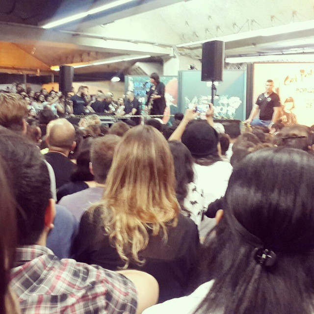 11/27/14 - São Paulo, Brasil, Estação Paraíso do Metro 5611