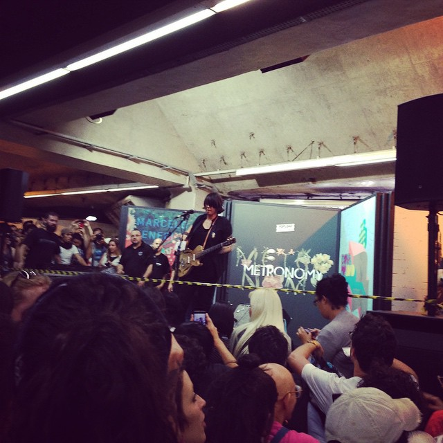 11/27/14 - São Paulo, Brasil, Estação Paraíso do Metro 6111