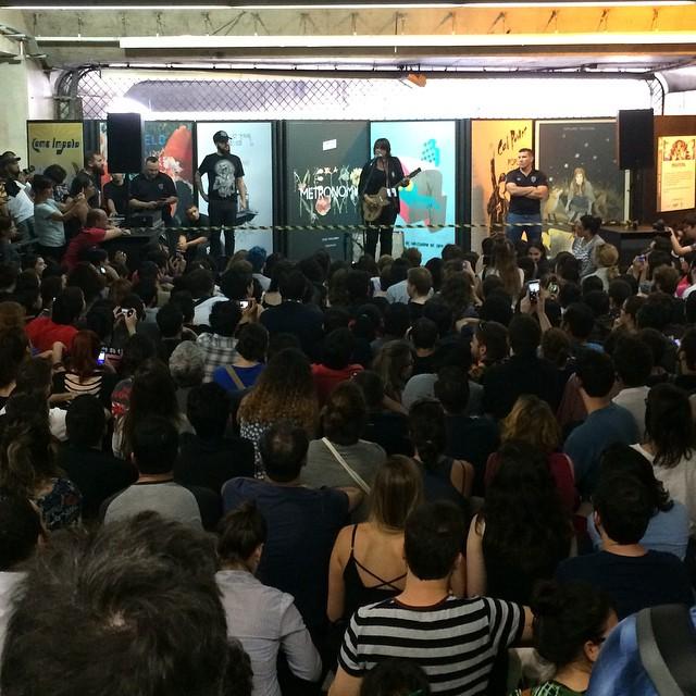 11/27/14 - São Paulo, Brasil, Estação Paraíso do Metro 615