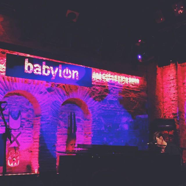 11/22/14 - Istanbul, Turkey, Babylon 814