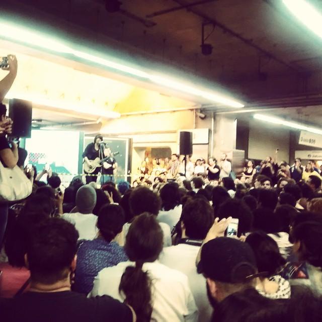 11/27/14 - São Paulo, Brasil, Estação Paraíso do Metro 816