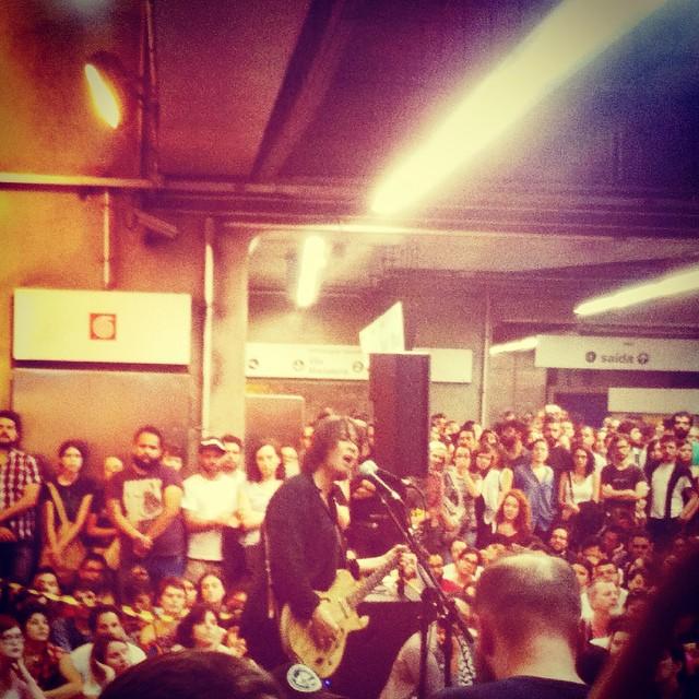 11/27/14 - São Paulo, Brasil, Estação Paraíso do Metro 917