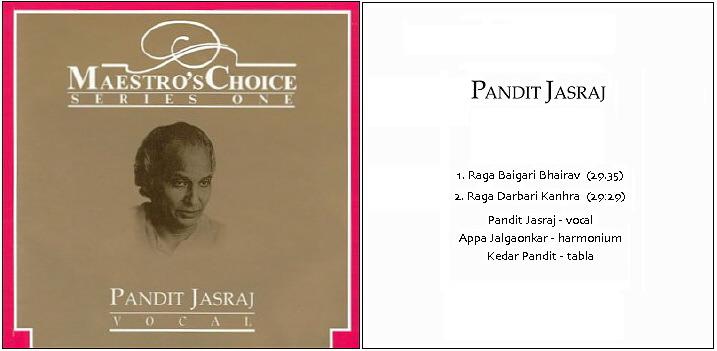 Musiques traditionnelles : Playlist - Page 9 Jasraj13