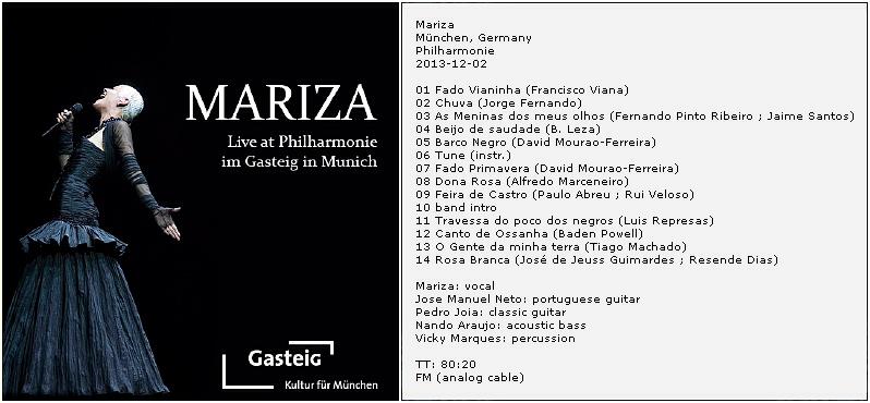 [Musiques du monde] Playlist Mariza10