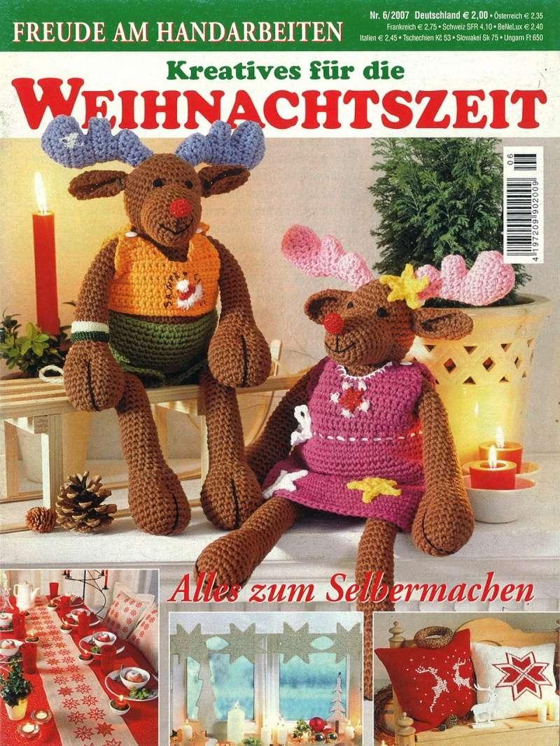 Revista: Weihnachtszeit Portad10