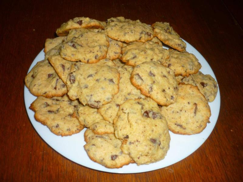 Cookies aux pépites de chocolat sans lait Cookie11