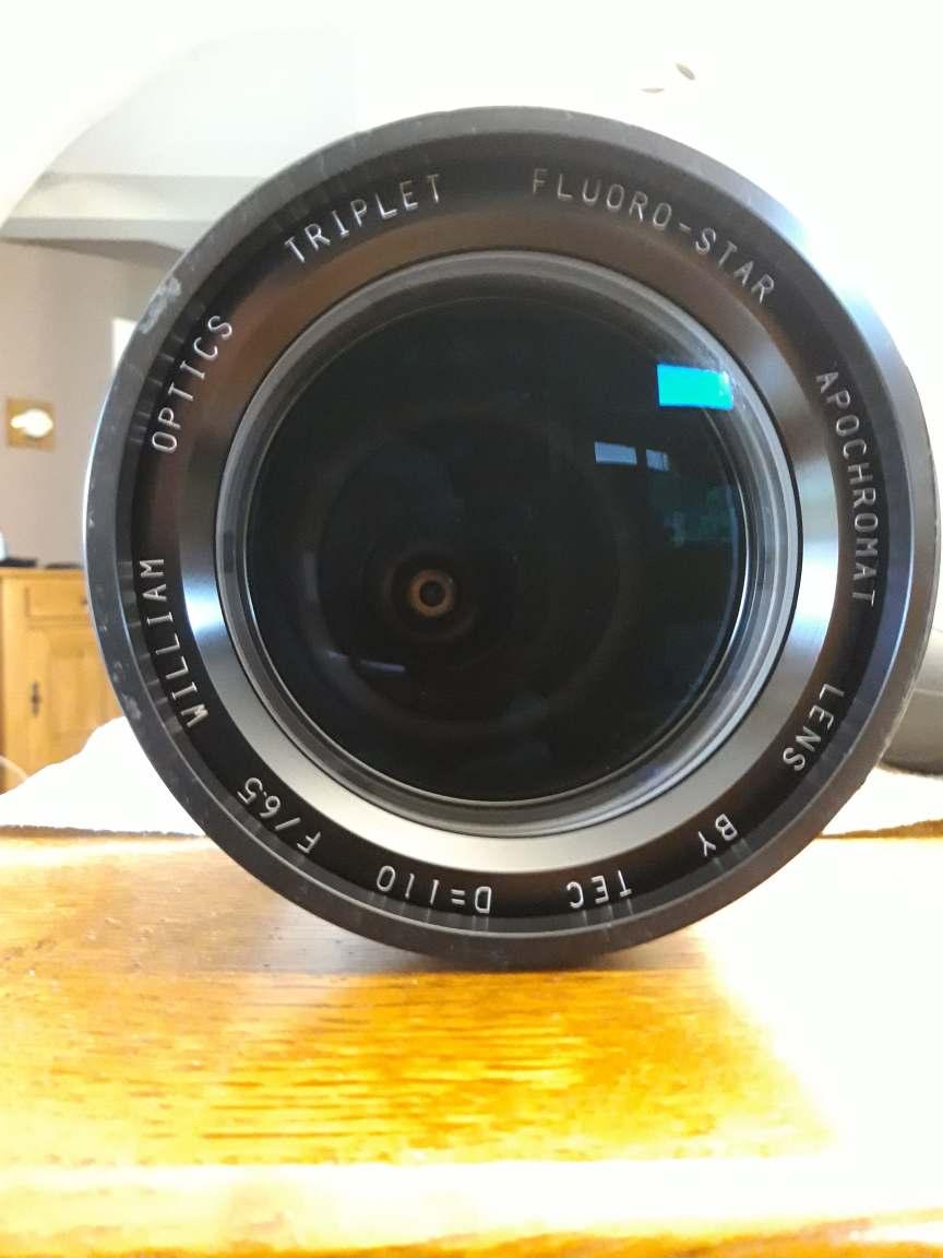 [résolu][Vendue] - (Vente) Lunette William Optics FLT110 Optique TEC 20191111