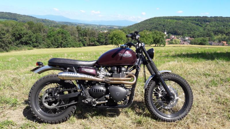 R100RS en Alsace 20180610