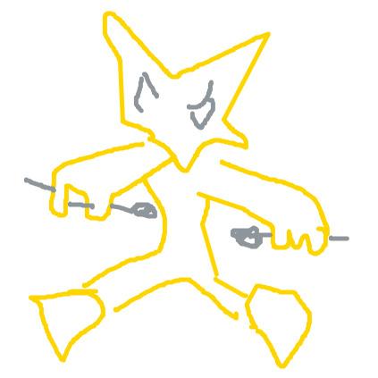 Dessine-moi un Pokémon en 45 secondes ! Alakaz10