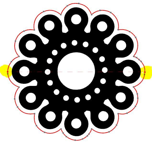 Faire chevaucher un motif sur un pli (demi-découpe) Captur20