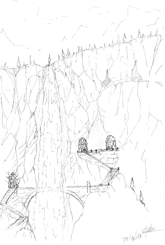 Les dessins de Gromdal - Page 3 Cascad10