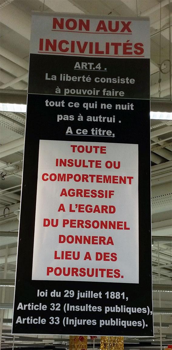 Non aux incivilités dans nos magasins ! Incivi12