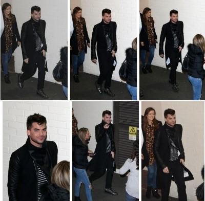 Adam Lambert News : 30th November 2014 : Adam and Queen on X Factor UK Captur12