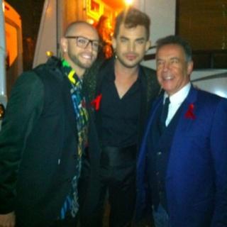 Adam Lambert News : 30th November 2014 : Adam and Queen on X Factor UK Screen10
