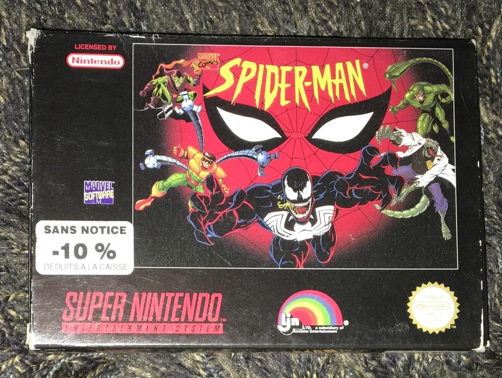 [ESTIM] Spider-Man snes 1994 Image10