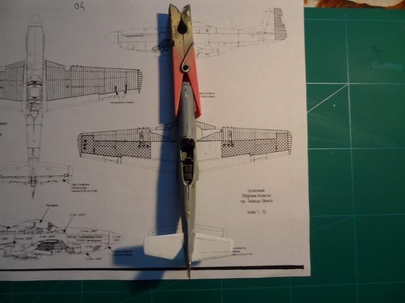 P-51D mustang airfix 1/72_ 2ème moule 007_mu12