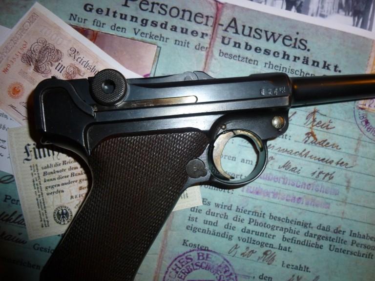 Un P08 Erfurt 1914/20 P1030715