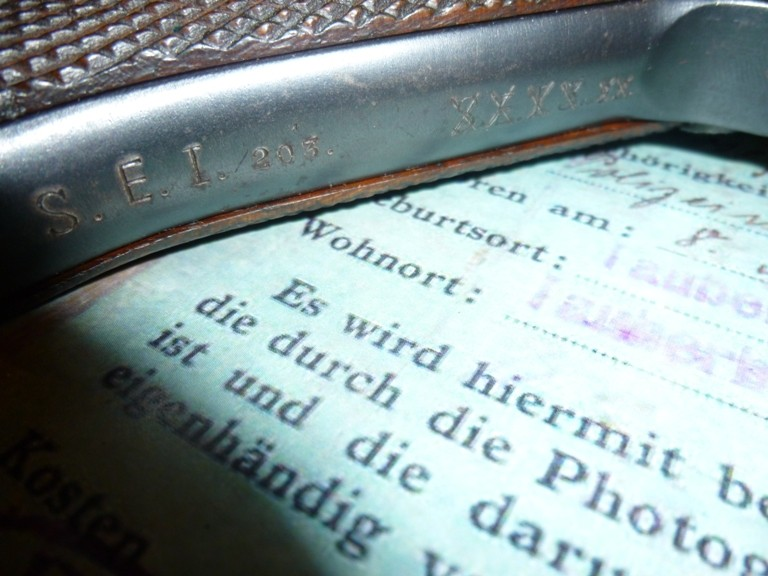 Un P08 Erfurt 1914/20 P1030716