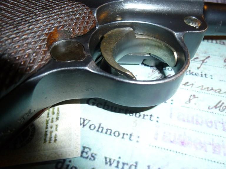 Un P08 Erfurt 1914/20 P1030718