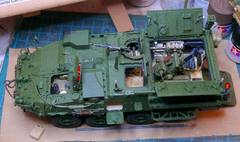 STRYKER M1129 MORTAR CARRIER VEHICLE de TRUMPETER au 1/35 - Page 6 Photo158